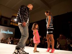 Phillies players, their wives and various personalities strut down the runway for the annual Shane Victorino Foundation All-Star Celebrity Fashion Show Monday evening.