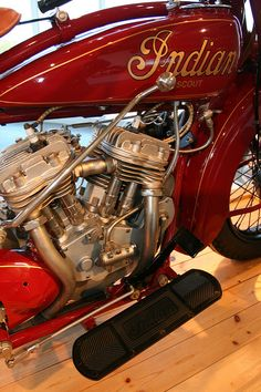 1936 Indian 101 Scout