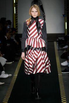 Pin for Later: House of Holland Brings Us Gingham and Glam Rock For Autumn 2015 House of Holland Autumn/Winter 2015