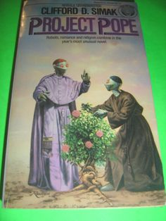 PROJECT POPE BY CLIFFORD D. SIMAK 1ST PAPERBACK EDITION