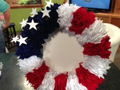 KPVI More Crafts - 4th of July Homemade Wreath