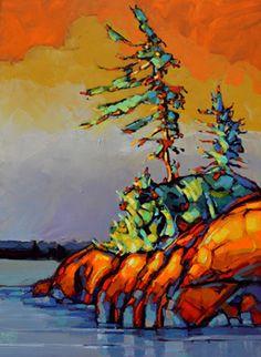 Canadian Landscape size 36 x 48 by : Jerzy Werbel www.werbeland.ca