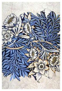 (via William Morris…. #blue | pattern :: indigo etc.)