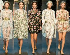 dolce and gabbana floral embellishment - Google Search