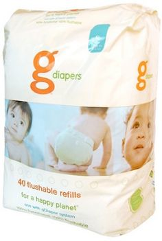 gDiapers Flushable Refills by gDiapers at BabyEarth.com, $15.95