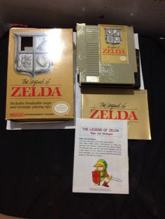 NES Zelda w/box and Map This was a $2 finds