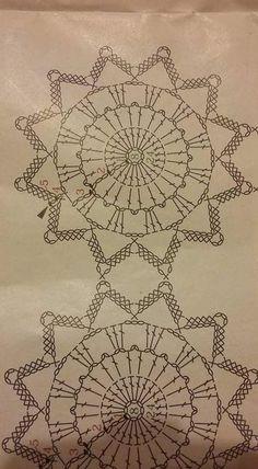This Christmas Angel Ornaments Art Au Crochet, Crochet Ball, Crochet Motifs, Crochet Diagram, Crochet Chart, Thread Crochet, Crochet Doilies, Crochet Flowers, Christmas Angel Ornaments