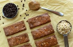Make these chocolate chip protein bars before your next workout!