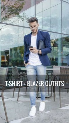T-SHIRT + BLAZER OUTFITS (6).jpg #businessoutfits