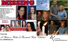 A Picture Worth A Thousand Words - Missing Brianna Maitland