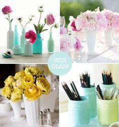 DIY - Milk Glass