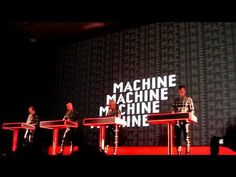 Kraftwerk is awesome; it's their fans I can't stand. (This from their MoMA show, April 11th 2012)