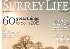 60 dates for your 2015 diary; great winter pubs; new hobbies for a new year; and much, much more in January's Surrey Life magazine…