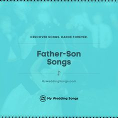 What is your favorite song as a father-son dedication? It is a special moment for any dad and his son at the groom's wedding. ⠀ . You can read our list of the top father-son songs on our website. .  #fatherson #dadson