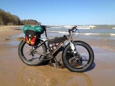 Coastal fat biking #fatbike #bicycle