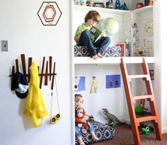 Why not have a mini mezzanine for mini people?