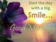 :) Good morning!