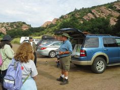 2014 Project Archaeology in Colorado. Jack Warner, President of the Colorado Archaeological Society, leads the group. #PreserveCO