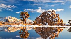 scenic wallpapers, mirage wallpapers, snow wallpapers, winter wallpapers, desert wallpapers, cold wallpapers, rocks wallpapers, mountains wallpapers, lake wallpapers, pond wallpapers, water wallpapers