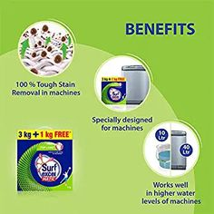 Surf Excel Matic Top Load Detergent Powder, 3 Kg + 1 kg Free: Amazon.in: Health & Personal Care Mustard Oil, Surfing, It Works, Personal Care, Health, Self Care, Health Care, Personal Hygiene, Surf