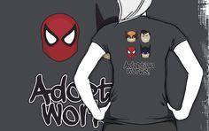 Adoption Superheros - Wolverine, Superman, Spiderman, Batman