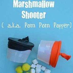 Marshmallow shooter and other crafts #GaleriAkal Untuk berbagi ide dan kreasi seru si Kecil lainnya, yuk kunjungi website Galeri Akal di www.galeriakal.com Mam!