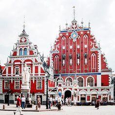 House of Blackheads in #Riga #Letonia via @JcmorenoJuan #travel