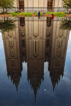 "LDS Temple reflection  - MormonFavorites.com  ""I cannot believe how many LDS resources I found... It's about time someone thought of this!""   - MormonFavorites.com"