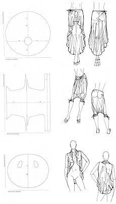 Fashion Sewing, Diy Fashion, Ideias Fashion, Sewing Hacks, Sewing Tutorials, Sewing Projects, Skirt Patterns Sewing, Clothing Patterns, Embroidery Techniques