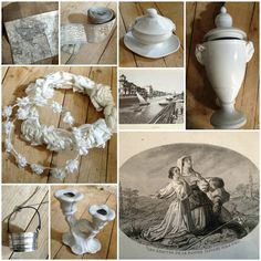 From the brocante shop  xoxo--FleaingFrance