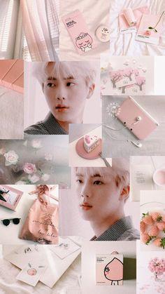 Bts Wallpaper Jin Lockscreen 36 New Ideas Bts Jin, Bts Aegyo, Rapmon, Wallpaper Collage, K Wallpaper, Korea Wallpaper, Bts Wallpapers, Bts Backgrounds, Billboard Music Awards