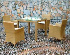 Sillón Rattán Sintético Formentera #Ambar #Muebles #Deco #Interiorismo #Jardin | http://www.ambar-muebles.com/sillon-rattan-sintetico-formentera.html