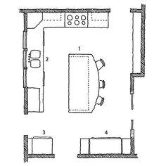Kitchen Floor Plan | Kitchen Floor Plan | Pinterest | Kitchen floor ...