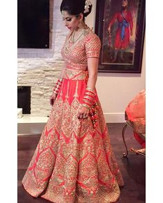 Our beautiful bride Anita Nain on her wedding in a Sabyasachi inspired Bridal Lehenga! Absolutely breathtaking! Are you looking to start the design process of the bridal outfit of your dreams? Or that showstopping party wear piece?  Email us at sales@wellgroomed.ca to set up a free consultation with one of our fashion consultants! Are you an International shopper? No problem! We offer telephone and Skype consultations as well! Email us for further information! We look forward to hearing…