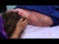 ▶ Myofascial Release of the Head, Neck, and Shoulder - YouTube