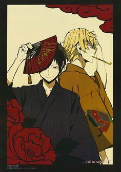 Durarara!! - Izaya and Shizuo