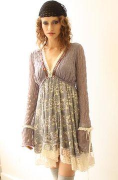 Lavendar Boho dress