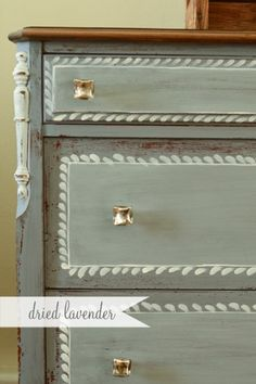 Dried Lavender / MIss Mustard Seed's  Milk Paint