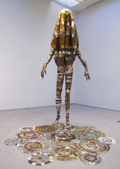 Erik Schnack, 'Wired 1' (2014), National Art Gallery of Namibia. 'Reflect' exhibition on Namibia's 30th Independence, 2020. National Art, Samurai, 30th, Art Gallery, Sculpture, Art Museum, Sculptures, Sculpting, Statue