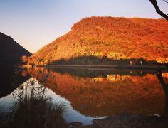 Lago del Segrino #lake #autumn