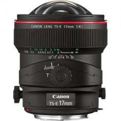 Canon TS-E 17mm f/4L Tilt-Shift Lens For filmmakers and photographers who want the look and feel only possible with extreme wide angle and fisheye photography, the new Canon EF 8-15mm f/4L Fisheye USM is a world-class choice. visit us: http://www.fushanj.com/