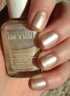 Wet 'n' Wild - (Vintage 1996 frost) Childhood Memories 90s, Vintage Nails, Retro Makeup, Black Polish, Wet N Wild, Vintage Beauty, Nail Colors, Nail Polish, Middle School