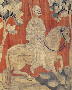 Death, As Depicted On The Apocalypse Tapestry, France; 1377–1382