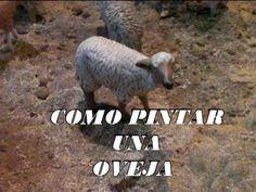 DIY COMO PINTAR UNA OVEJA PARA EL BELEN - PAINTING SHEEP FOR BETHLEHEM - YouTube