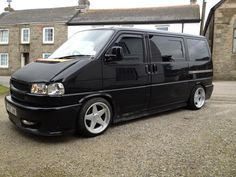 Hot looking Black VW T4 long nose