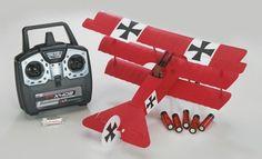 Flyzone Micro Fokker DR1 WWI RTF RC Airplane