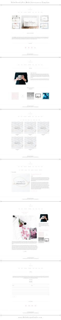 DESIGNS FOR SQUARES Squarespace Templates