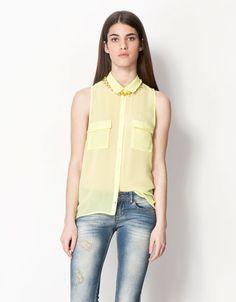 Bershka España - Camisa BSK colores