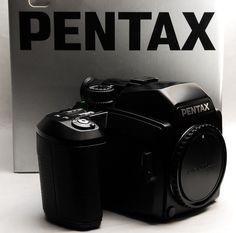 67 Pentax 645N Medium Format Film Camera Body Only with Boxed | eBay