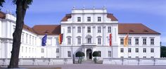 """Oranienburg Palace Museum (located in the State of Brandenburg).   The estate was a gift from the Great Elector to his wife Louise Henriette, Princess of Orange-Nassau. The palace was named """"Oranienburg"""" in her honor as early as 1652, and a year later the village of Bötzow, where the estate was located, also took on this name. An existing hunting lodge was converted and expanded into the palace from 1651-55.  A palace structure emerged, whose Dutch influence is unmistakable. #castles…"""